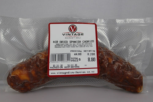 Vintage Air Dried Chorizo