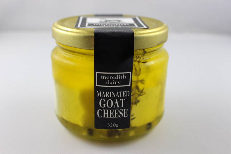 Meredith's goat's cheese