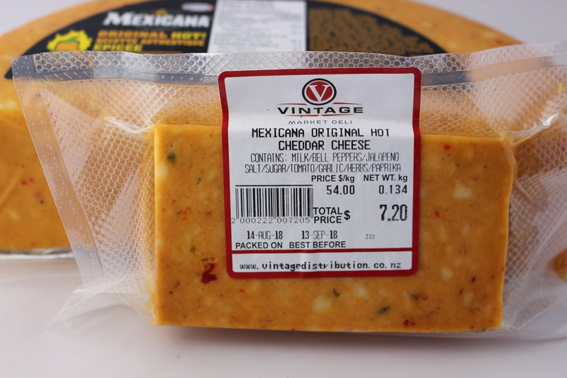 Mexican Hot Cheddar