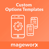 Product Custom Options Templates for Magento 2