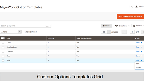 Magento 2 Advanced Product Options Extensions on Webtex – Webtexsoftware