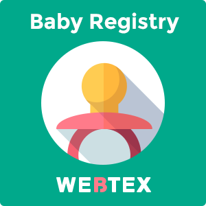 Baby Gift Registry for Magento