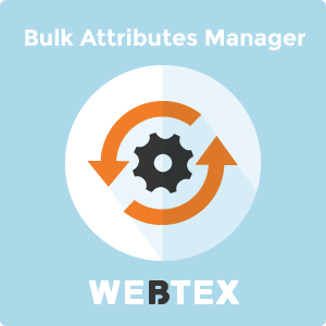 Bulk Attribute Values Manager for Magento