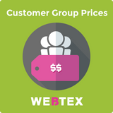 Customer Group Prices for Magento