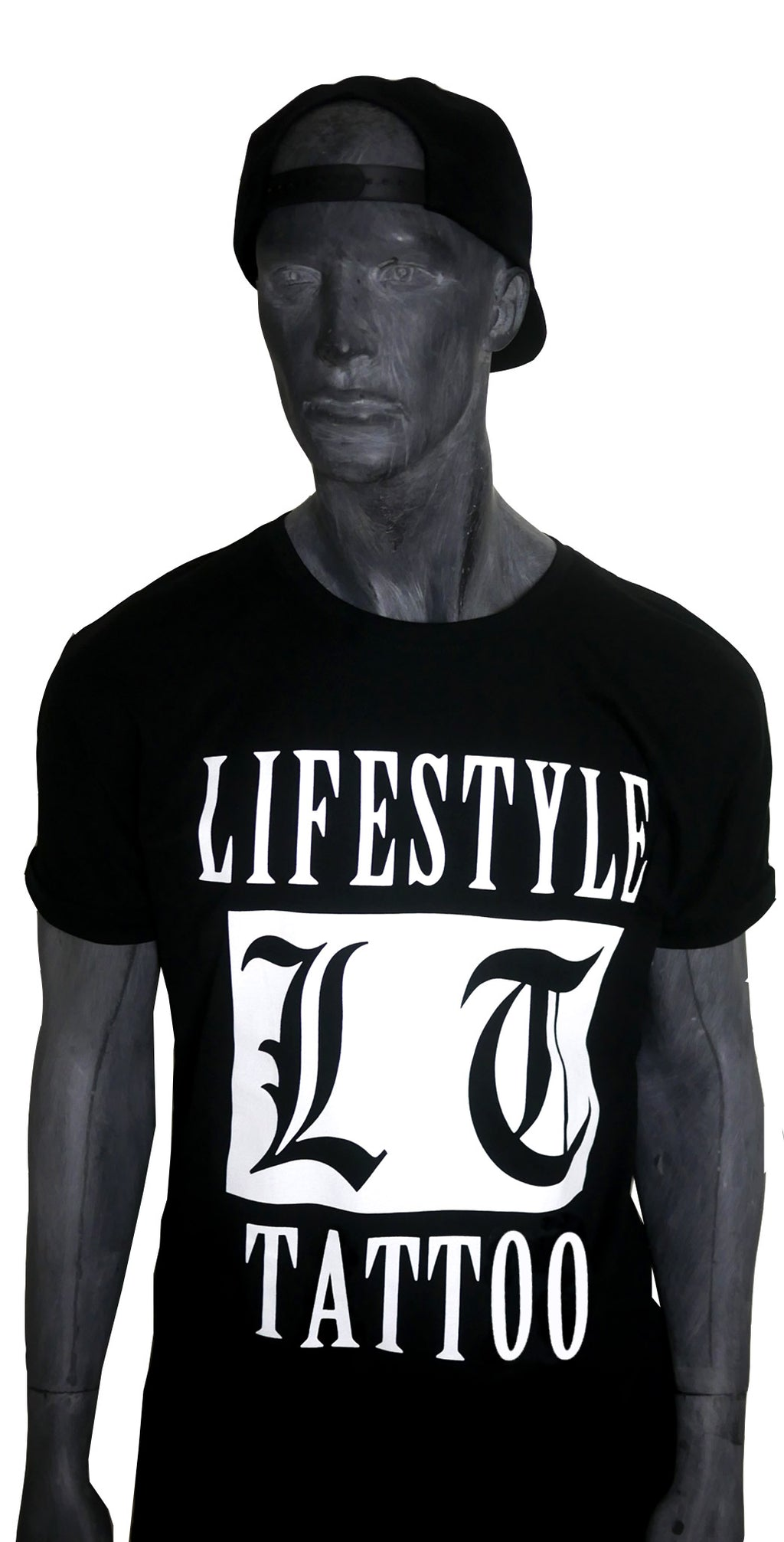 Lifestyle Tattoo LT Box Logo Herr Svart/Vit