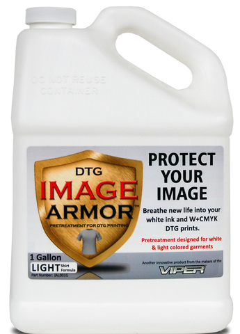 Image Armor Light Shirt Pretreatment