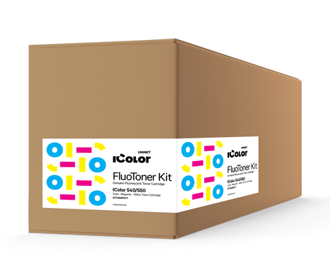 R550 Fluorescent CMY Starter Toner Cartridge Kit