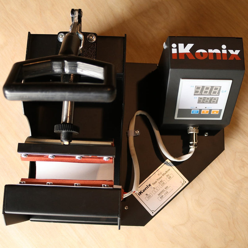 iKonix 4-in-1 Digital Mug Heat Press