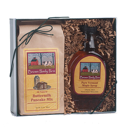 Vermont Morning Gift Set