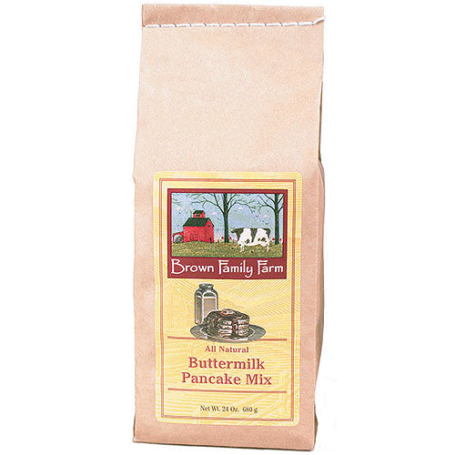 24 oz Brown Family Farm Buttermilk Pancake Mix