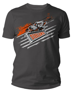 Steelers Crested Anthracite T Shirt