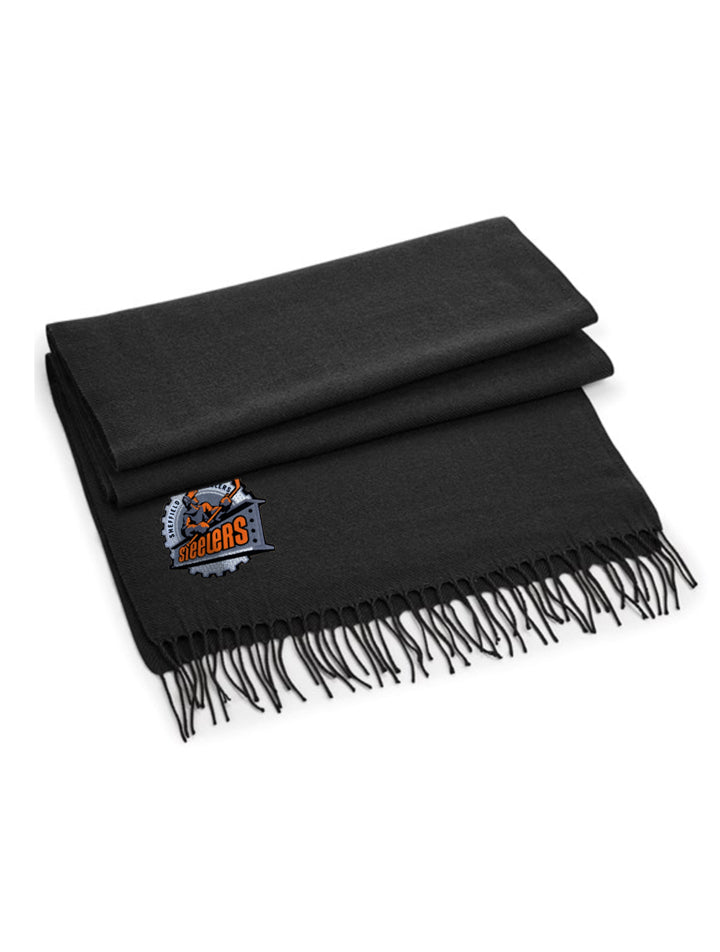 Steelers Black Classic Woven Scarf