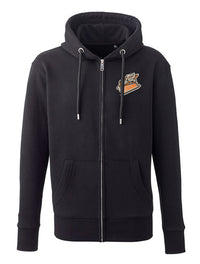 Steelers Embroidered Zipped Hoodie
