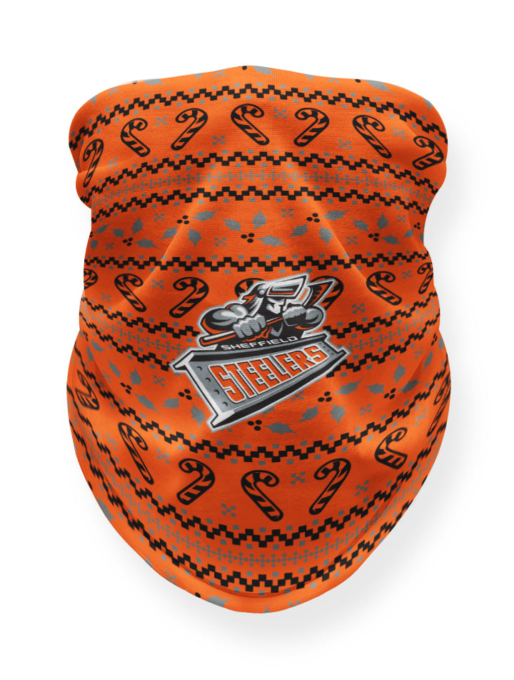 Sheffield Steelers Christmas Orange Snood