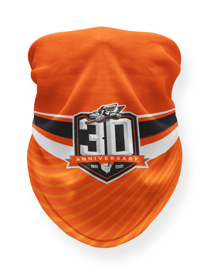Steelers Orange 30th Anniversary Snood
