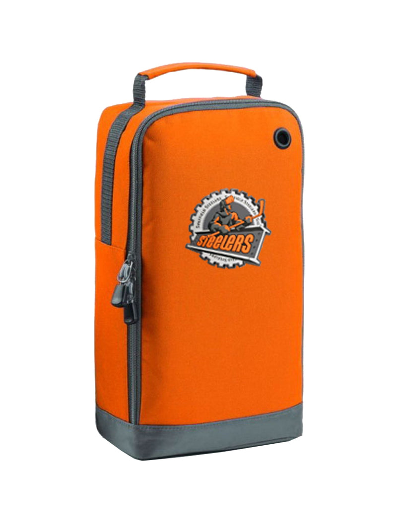 Steelers Orange Shoe/Accessory Bag