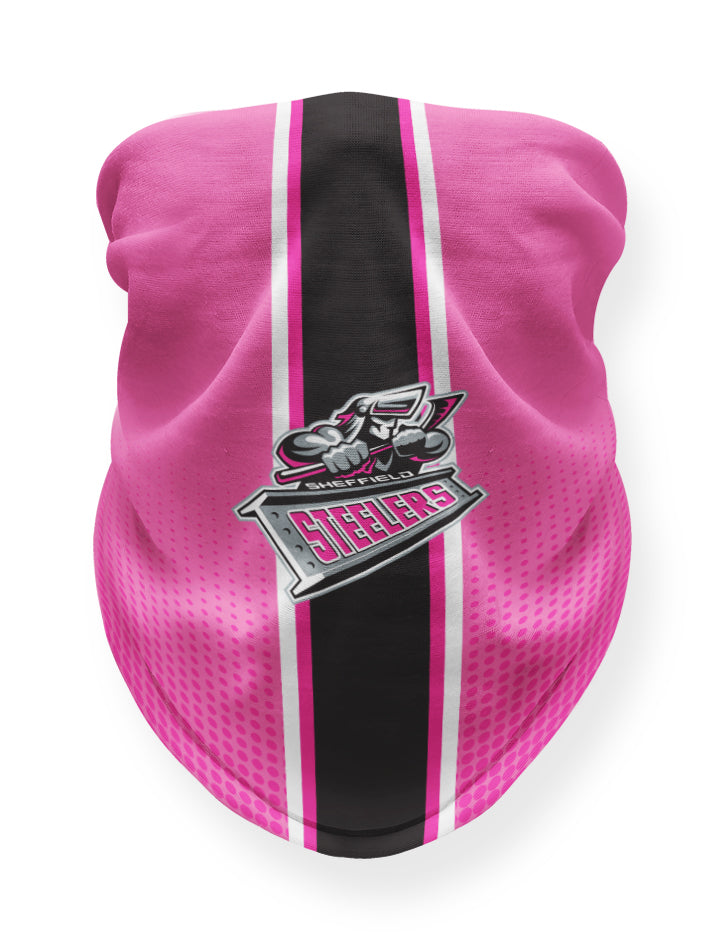 Sheffield Steelers Pink Snood
