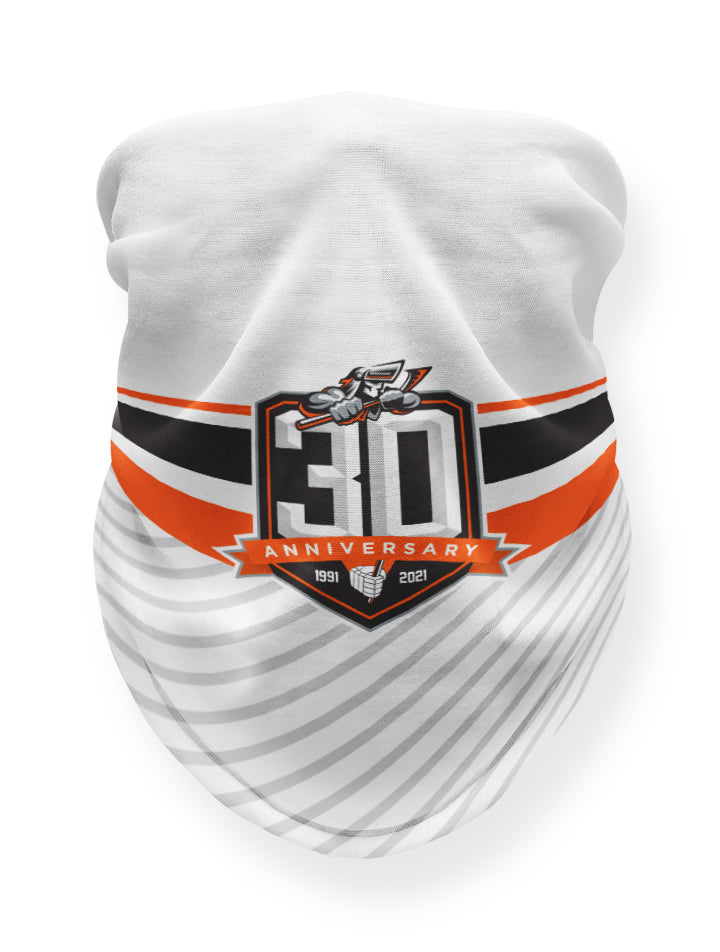 Steelers White 30th Anniversary Snood