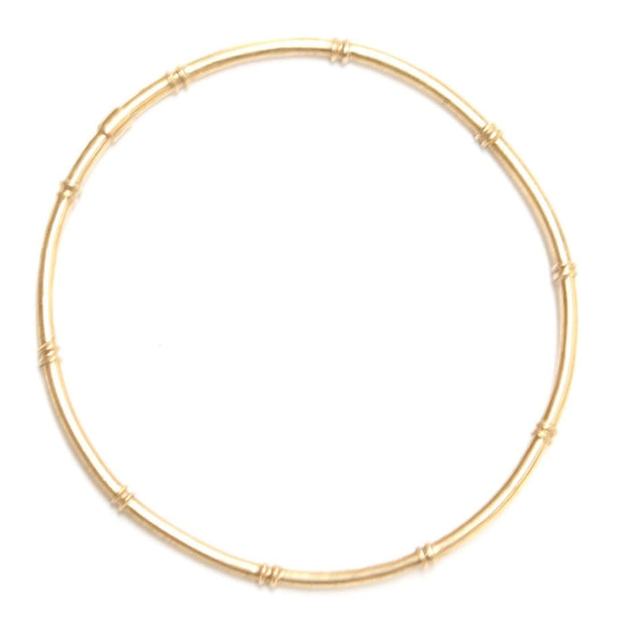 Brass Bamboo Bangle