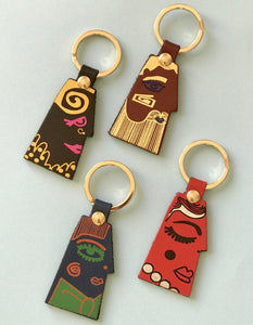 Portrait Key Fob