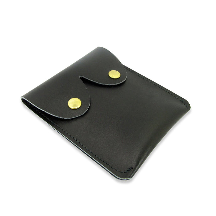 Leather Boob Purse Black