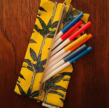 Load image into Gallery viewer, Yellow Palms Pencil Case