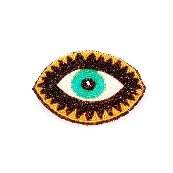 Beaded Eye Purse