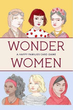 Load image into Gallery viewer, Wonder Women: A Happy Families Card Game
