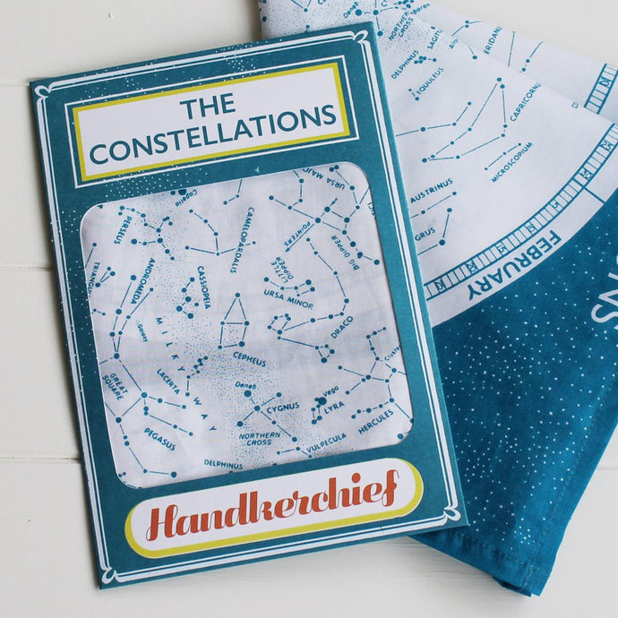 SALE Handkerchief constellations
