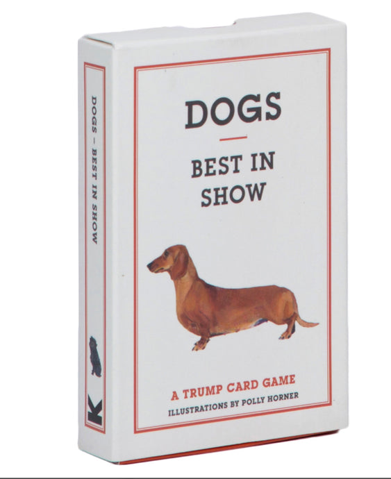 Dogs: best in show trump game