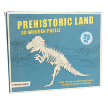 Load image into Gallery viewer, Tyrannosaurus 3D Wooden Puzzle