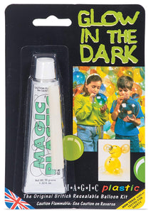 Glow in the Dark Magic Plastic