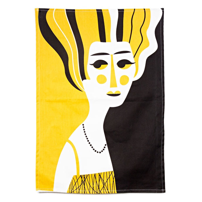 Mrs Hoffman Tea Towel