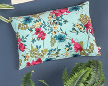 Load image into Gallery viewer, Aqua Desire Cotton Velvet Cushion