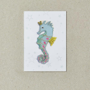 Seahorse Iron on Patch