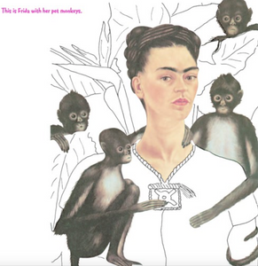 Frida Kahlo Colouring Book