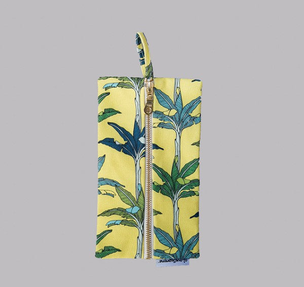 Yellow Palms Pencil Case