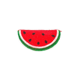 Watermelon Beaded Purse