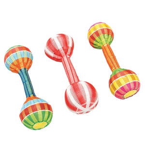 2 Ball Multicolour Rattle