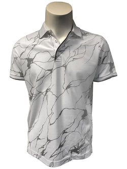 Steven Land Limited Edition Collection | Made In Turkey | Modern Fit | In The Clouds Polo Shirt