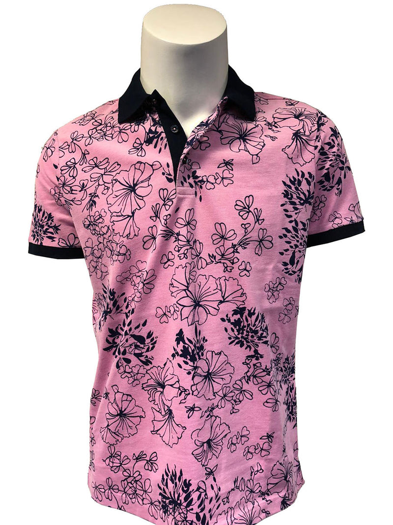 Steven Land Limited Edition Collection | Made In Turkey | Modern Fit | Steven's Favorite Polo Shirt | Pink