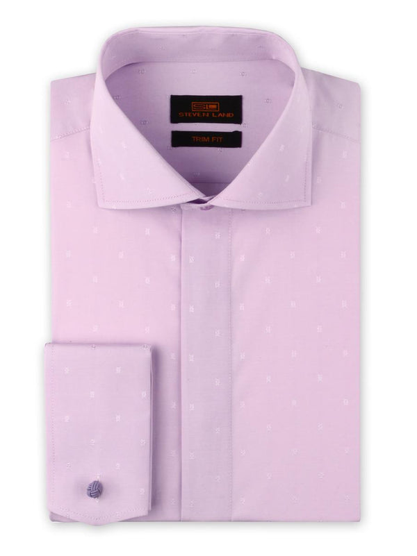 Dress Shirt | TA1906 | Trim Fit | Wide Spread Collar | French Novelty Cuff | Orchid