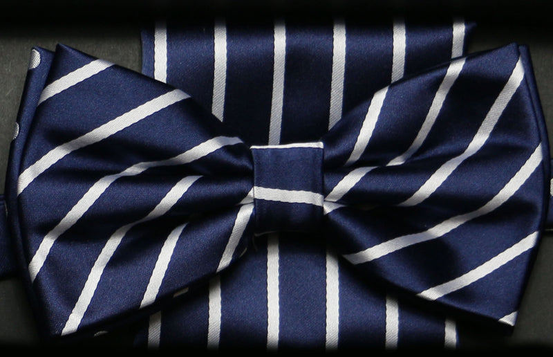 BTHD2 | Basic Collection Bow Tie and Hanky Set