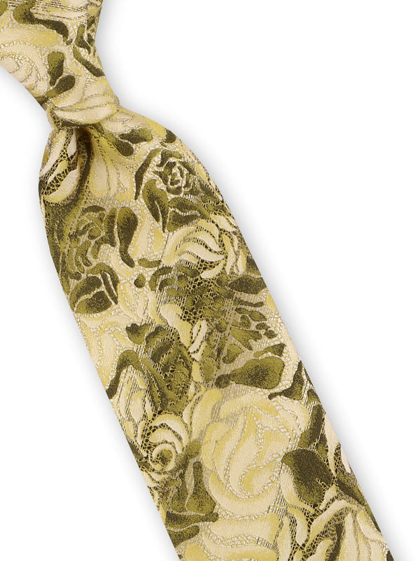 Steven Land | Floral Cluster Tie and Hanky Set | Silk | Big-Knot | BW1902