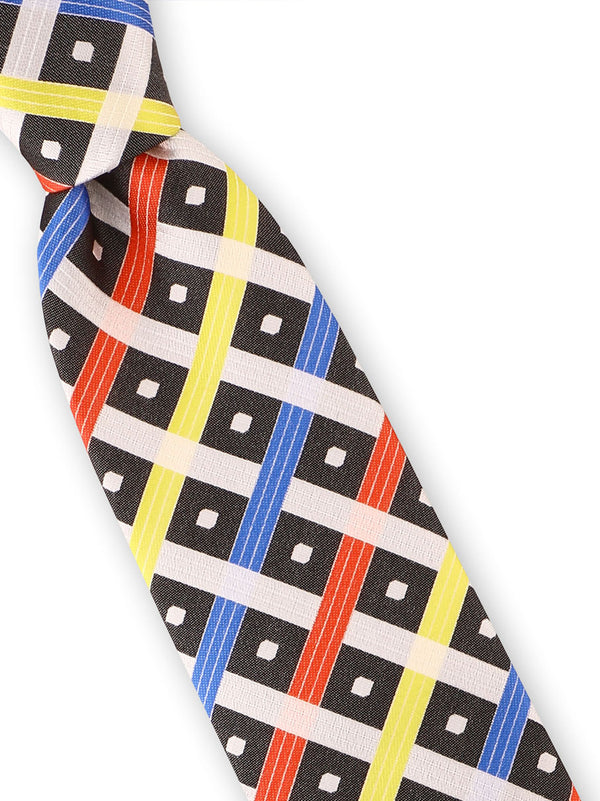 Steven Land | Box Catch Silk Tie | Big Knot | BW214