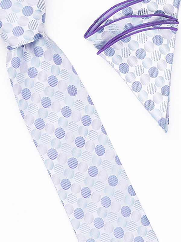 Tie and Hanky Set | 100% silk | Big-Knot | BWR1557