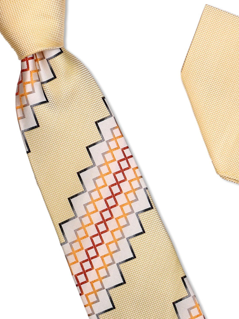 Tie and Hanky Set | 100% silk | Big-Knot | BWU834
