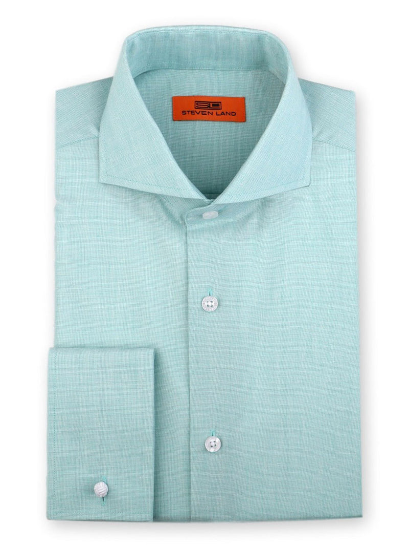 Dress Shirt | DC60 | Classic Fit | Cutaway Collar | French Cuff | Mint