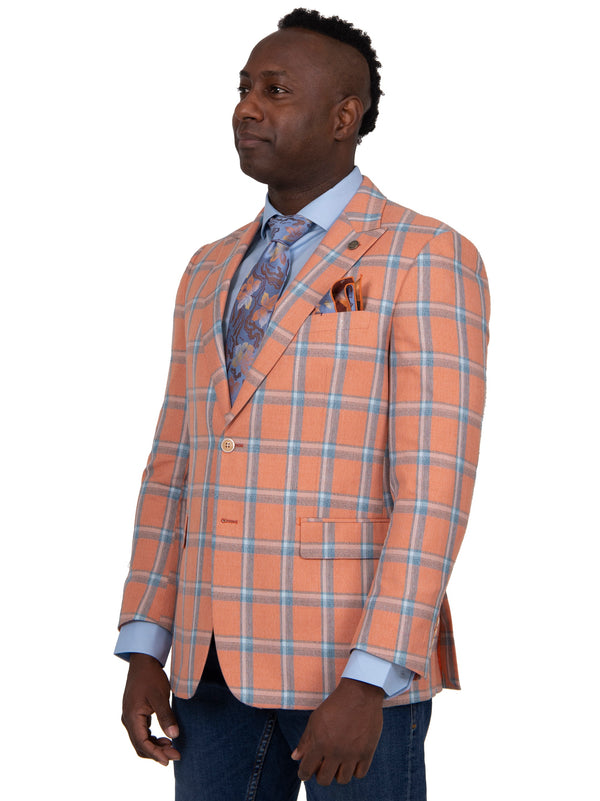 Steven Land | Etro Checker Plaid Blazer | Clementine