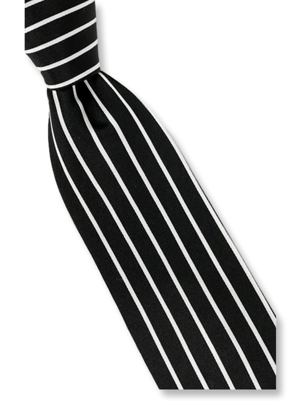 Steven Land | Basic Tie Collection | HD2 | Stripe Tie and Hanky Set